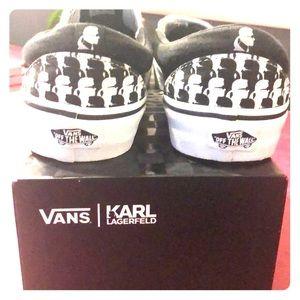 Karl Lagerfeld Slip on Vans